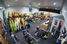 Kayaks and Paddles Plymouth Showroom