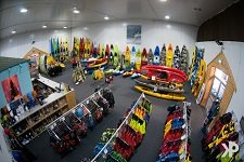 Kayaks and Paddles Plymouth Store