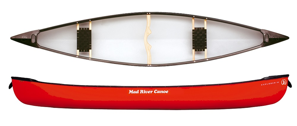 Mad River Explorer Top And Side View In Red
