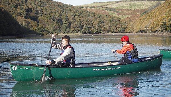 Mad river explorer 14tt 16tt canoes for Mad river fishing