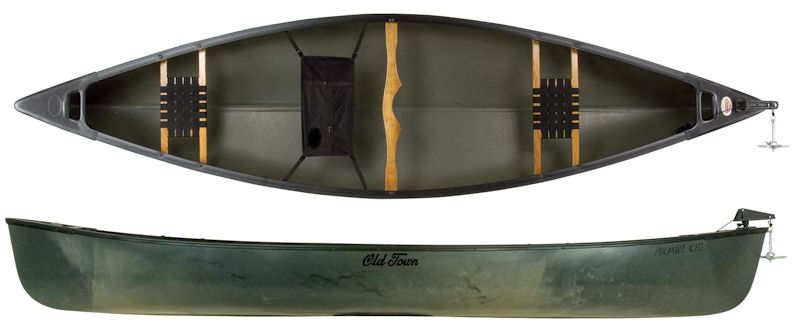 Old Town Canoes Predator 133 from Kayaks and Paddles Canoe Shop
