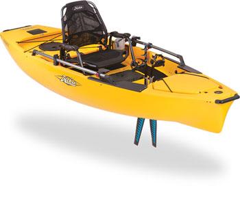 Hobie kayaks mirage drive pedal kayaks from kayaks for Fishing kayak with foot pedals