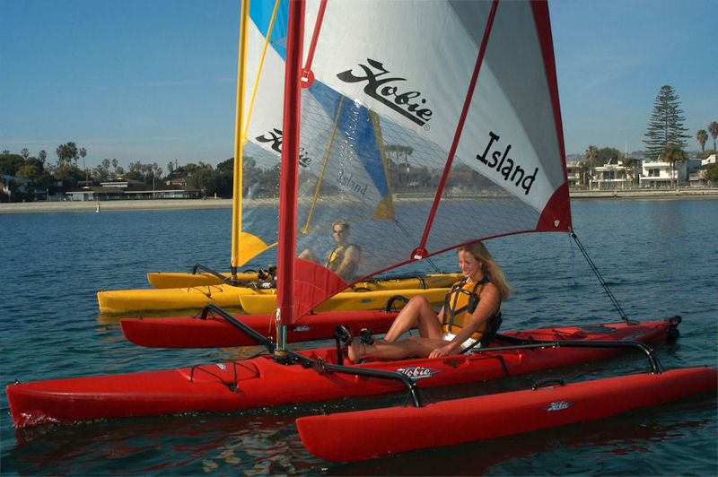Hobie Mirage Adventure Island Kayak