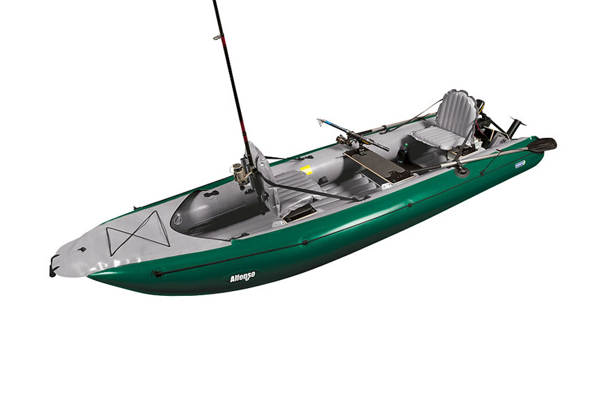 Gumotex alfonso inflatable fishing boat kayaks and for Used fishing kayak