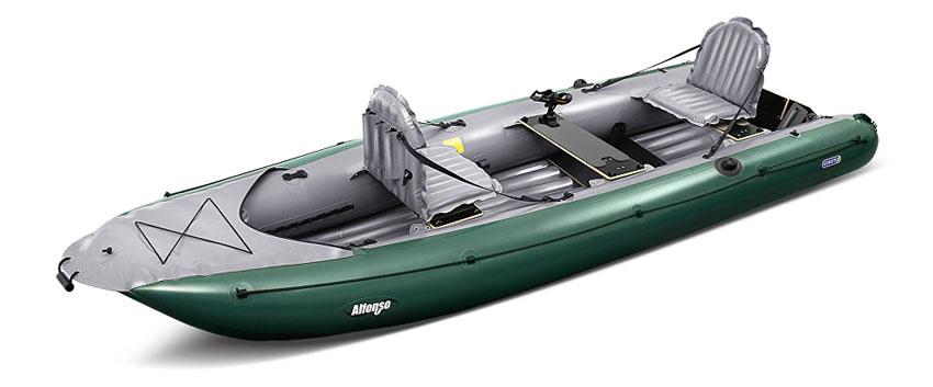Gumotex alfonso inflatable fishing boat kayaks and for Inflatable fly fishing boats