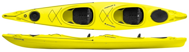 Perception Horizon | Tandem Touring Kayaks