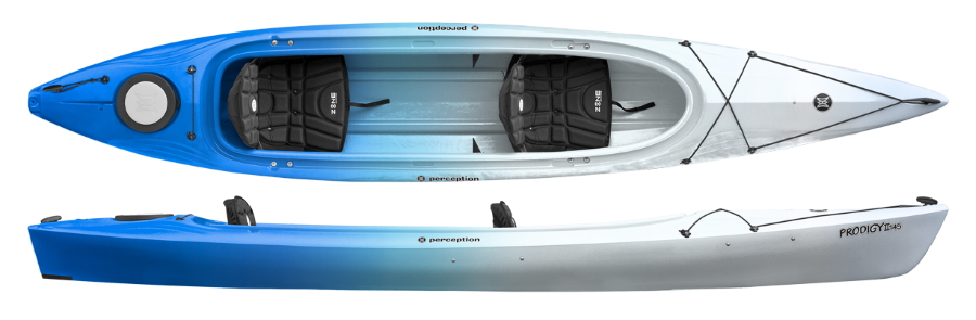 Perception Prodigy II 14 5 Tandem Kayak from Kayaks & Paddles Canoe Shop