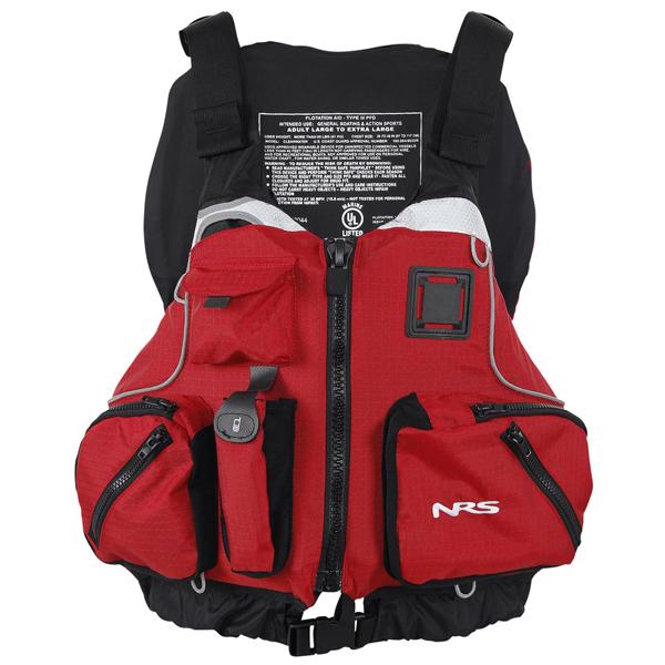 Nrs cvest type iii pfd sea kayaking buoyancy aids equipment for Best kayak fishing pfd