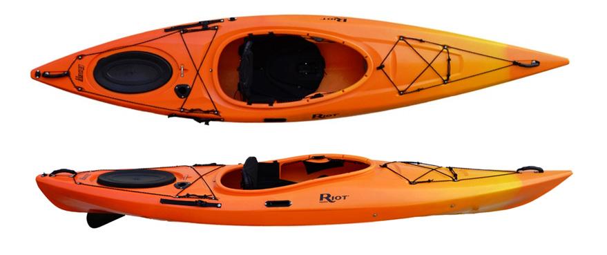Riot Edge 11 With Skeg Touring Kayak