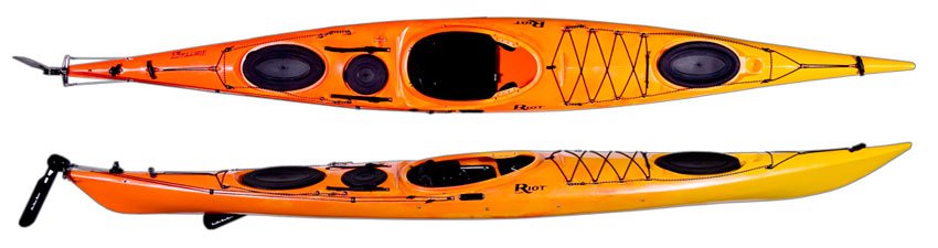 Riot Brittany 165 Plastic Sea Kayaks