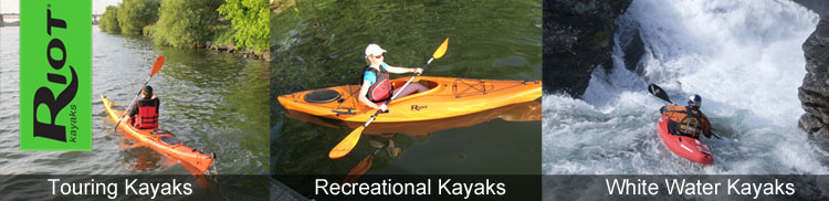 Riot Kayaks for sale from Kayaks & Paddles - Online & Instore