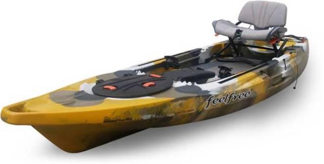Feelfree lure 11 5 angler freshwater fishing kayaks for Good fishing kayaks