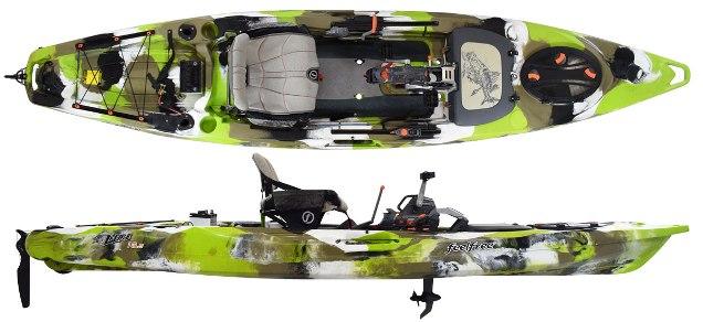 Feelfree Lure 13 5 Overdrive Fishing Kayak