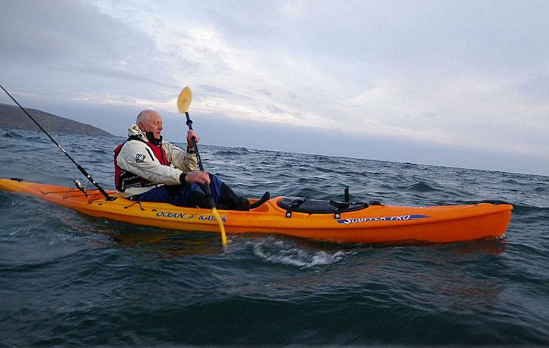 See through canoe home for Ocean fishing kayaks