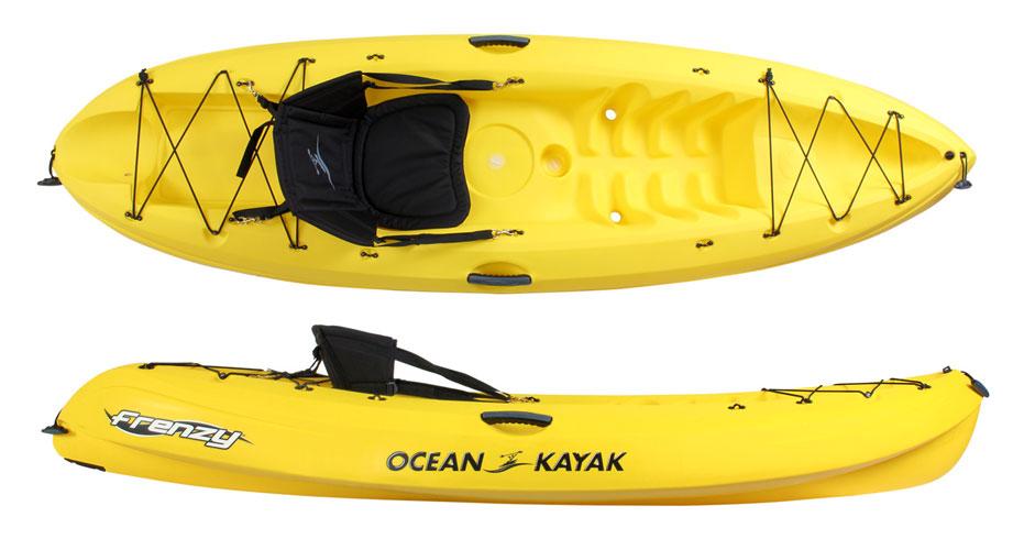 Ocean Kayak For Sale >> Ocean Kayaks Frenzy Sit On Top Kayaks