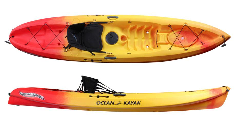 Kayak On Roof >> Ocean Kayak Scrambler 11 | Sit On Top Kayaks