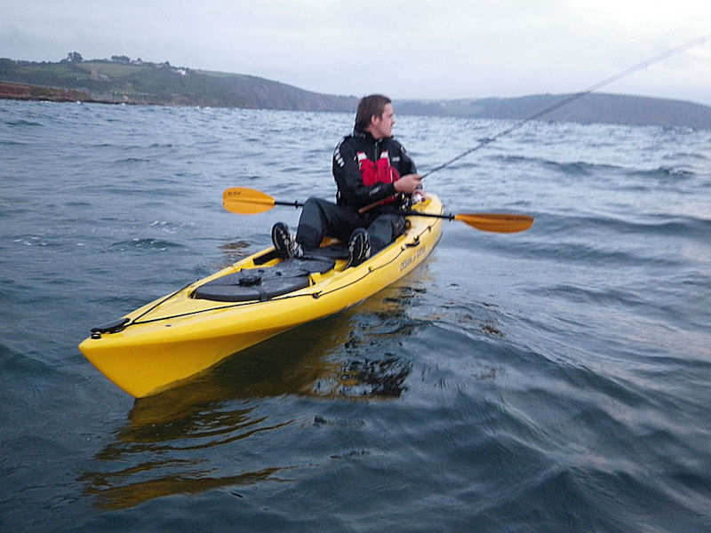 Ocean kayaks video search engine at for Ocean kayak fishing
