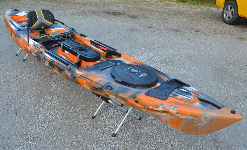 Ocean kayak trident 13 angler 2017 fishing sit on top kayaks for New fishing kayaks 2017