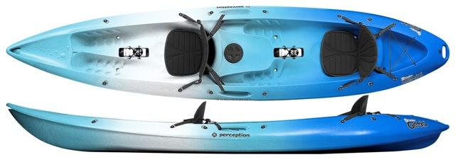 Perception Gemini Comfort | Double Sit On Top Kayaks