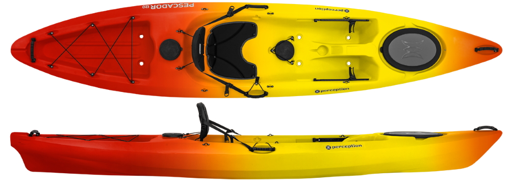 Perception Pescador 12 | Sit On Top Kayaks