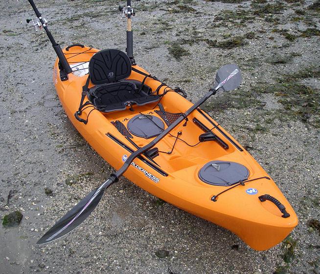 Wilderness systems tarpon 100 sit on top kayaks for Sit on fishing kayak