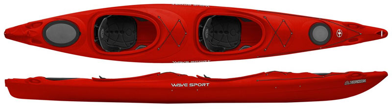 Wavesport Horizon | Tandem Touring Kayaks