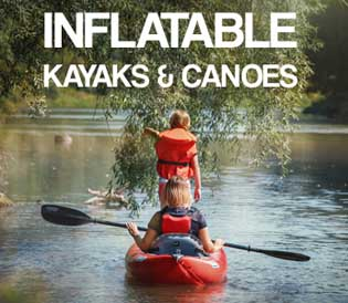 Inflatable Kayaks, Canoes and Boats For Sale at Kayaks & Paddles